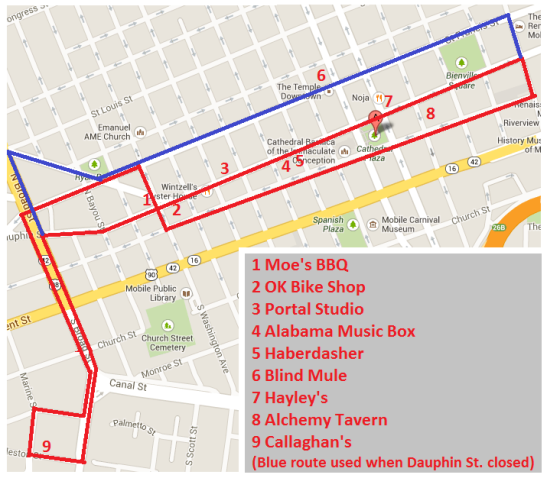 SouthSounds Trolley Map